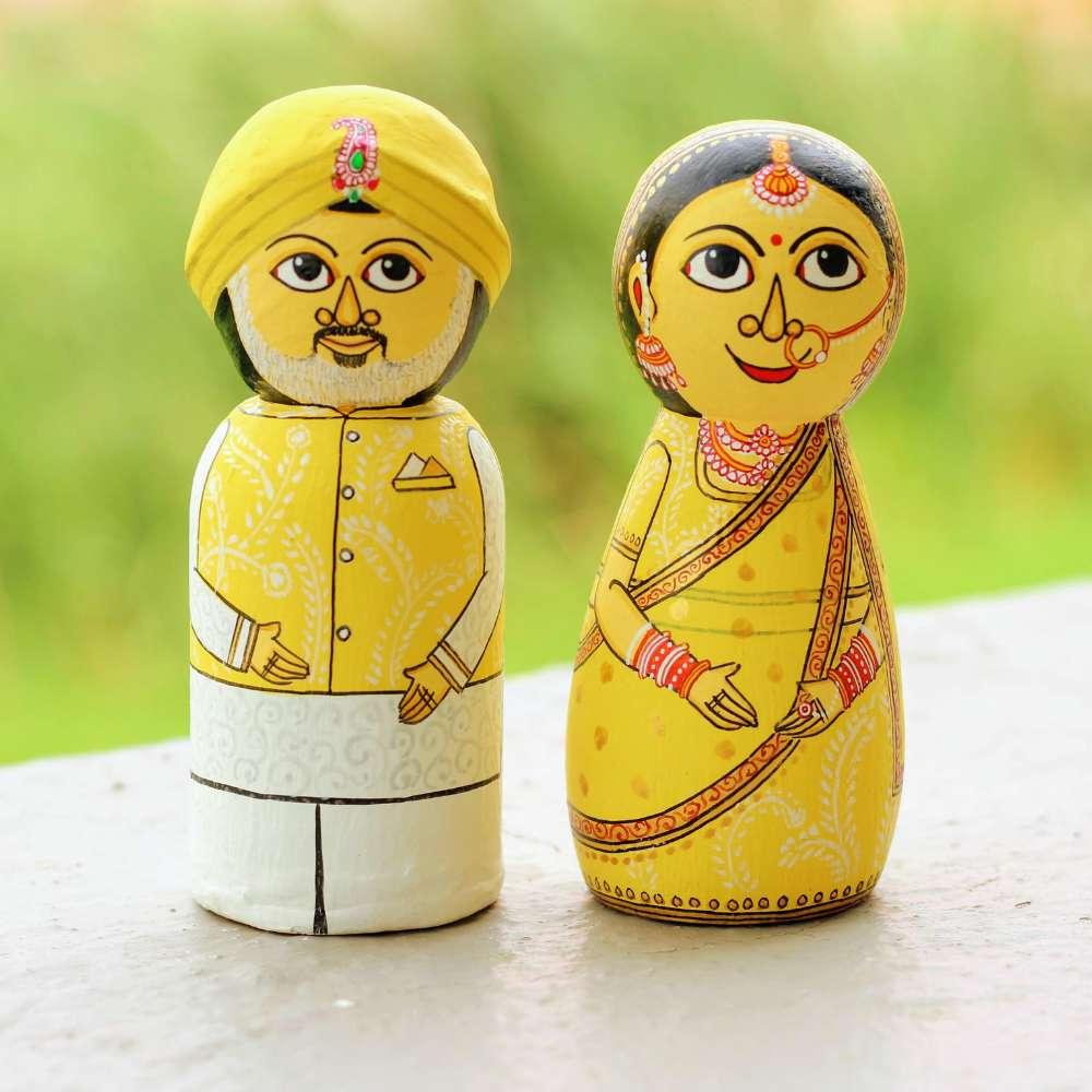 Customized Couple Dolls