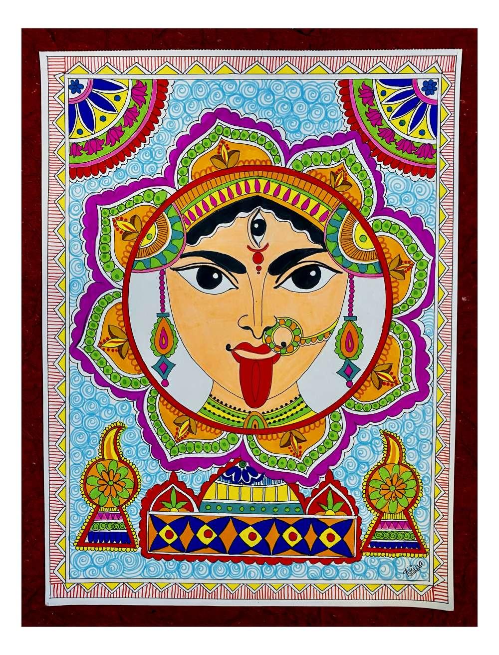 Mataji madhubani art