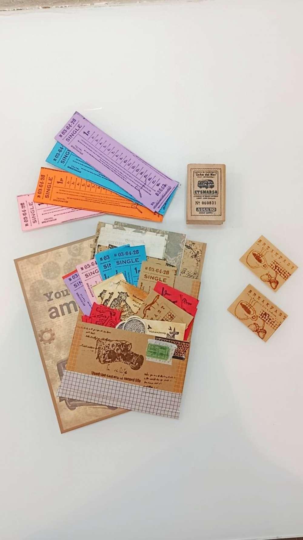 Vintage Ephemera folder