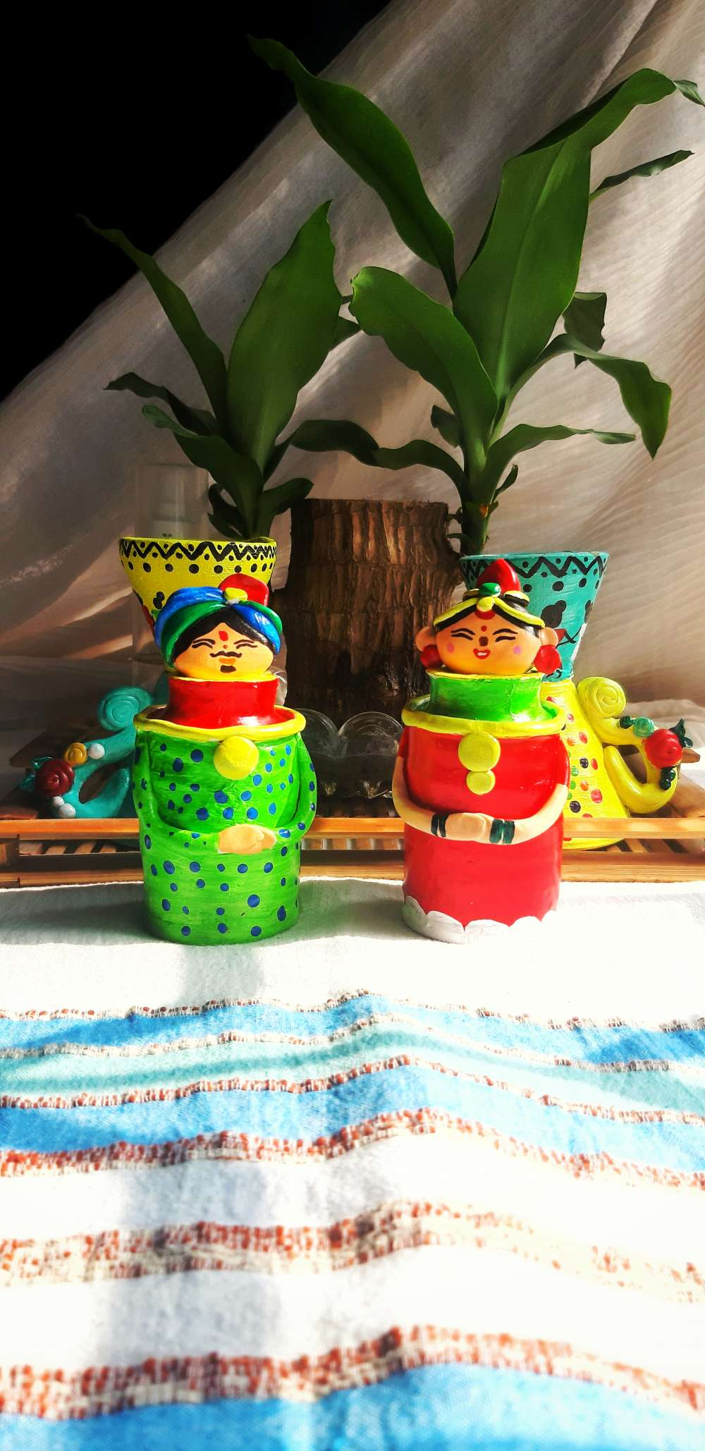 Earthen dolls