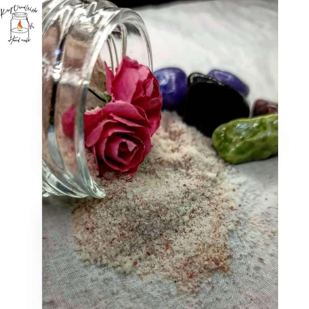 elegant rose sugar body scrub