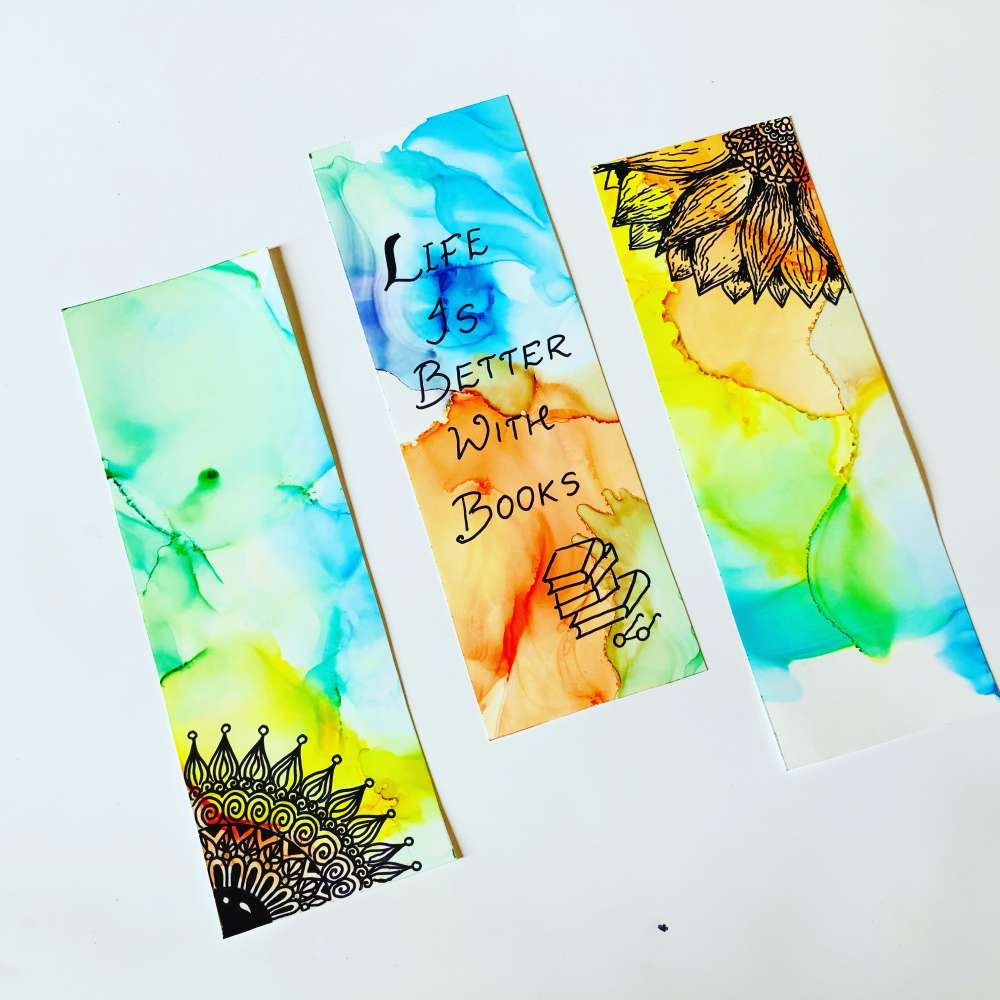 Life is better with books bookmarks