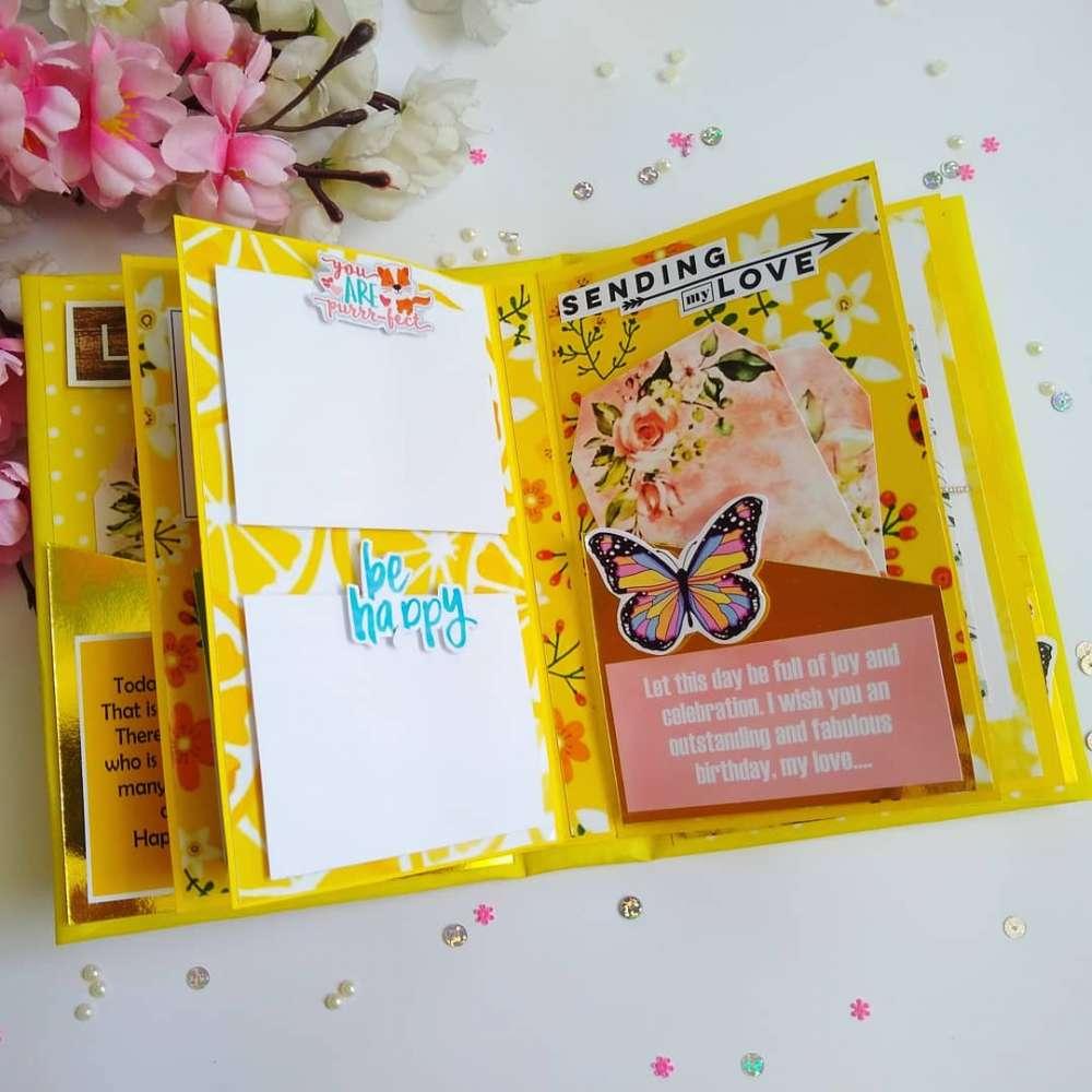 Birthday scrapbook for best friend