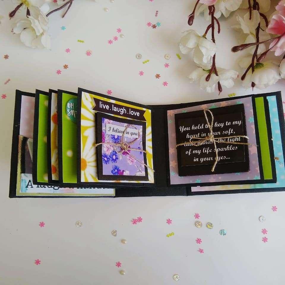 Handmade Scrapbook album