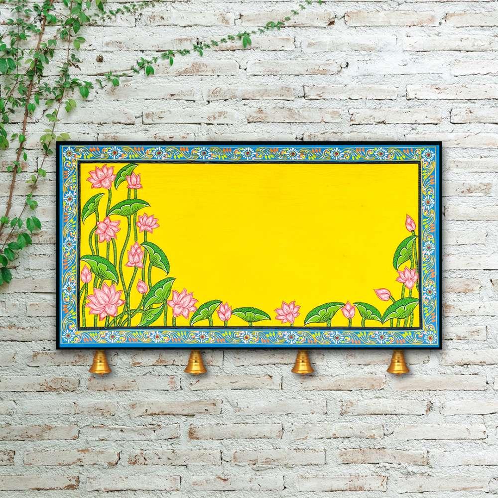 Yellow Lotus Nameplate