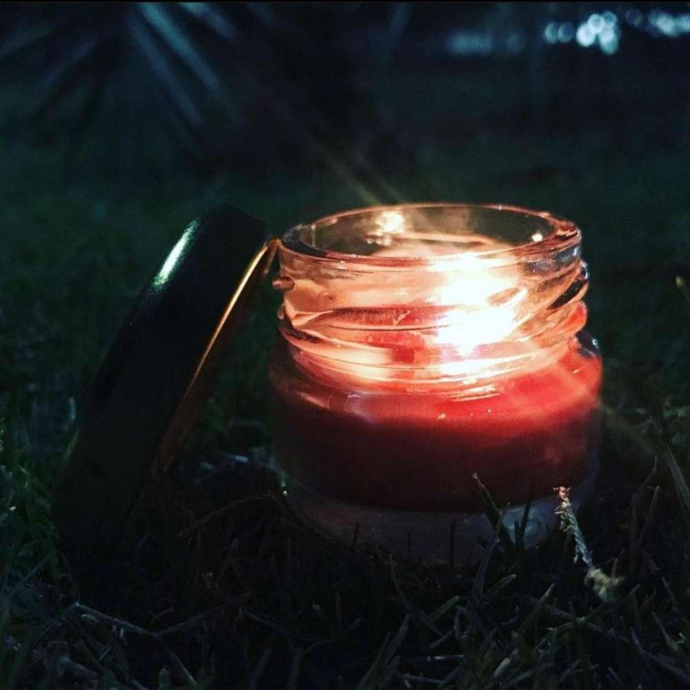 chocolate jar candle