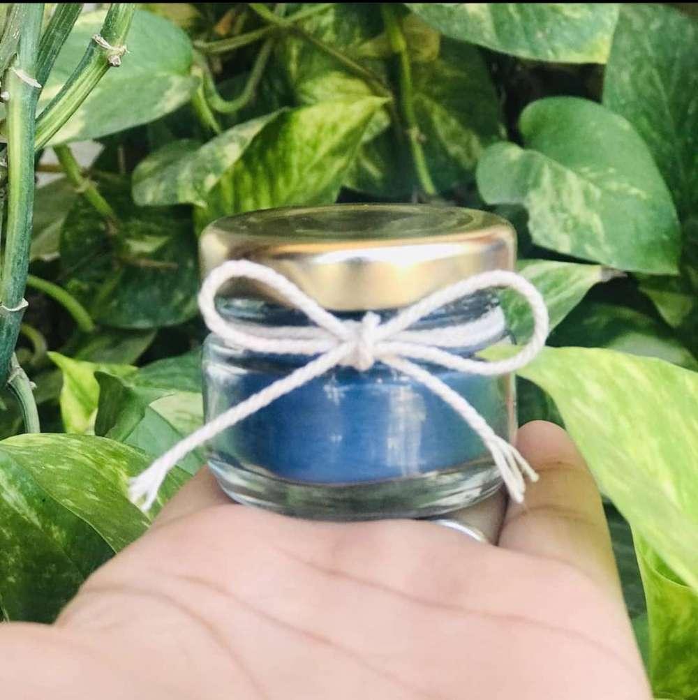 frosty jar candle