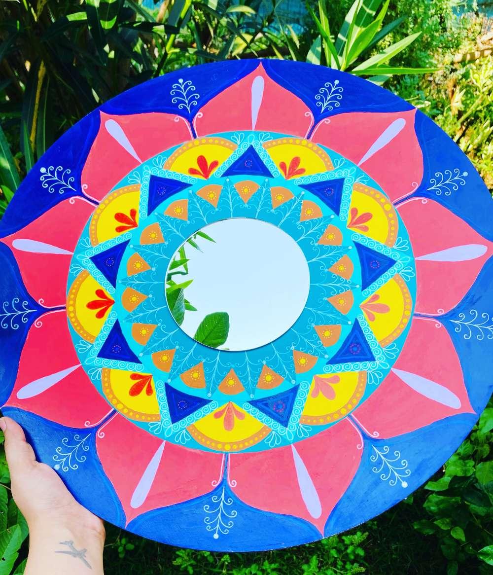 Flowery mandala
