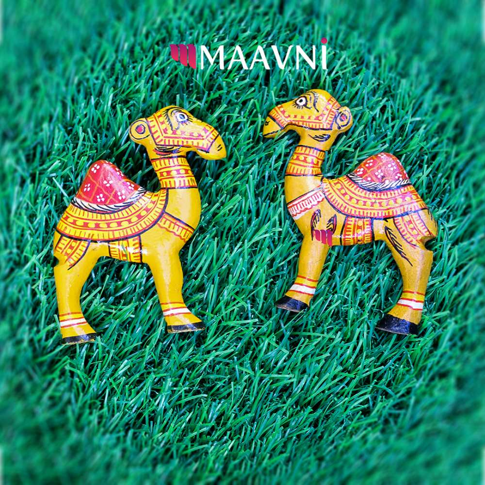 Camel Wood Toy Cutouts