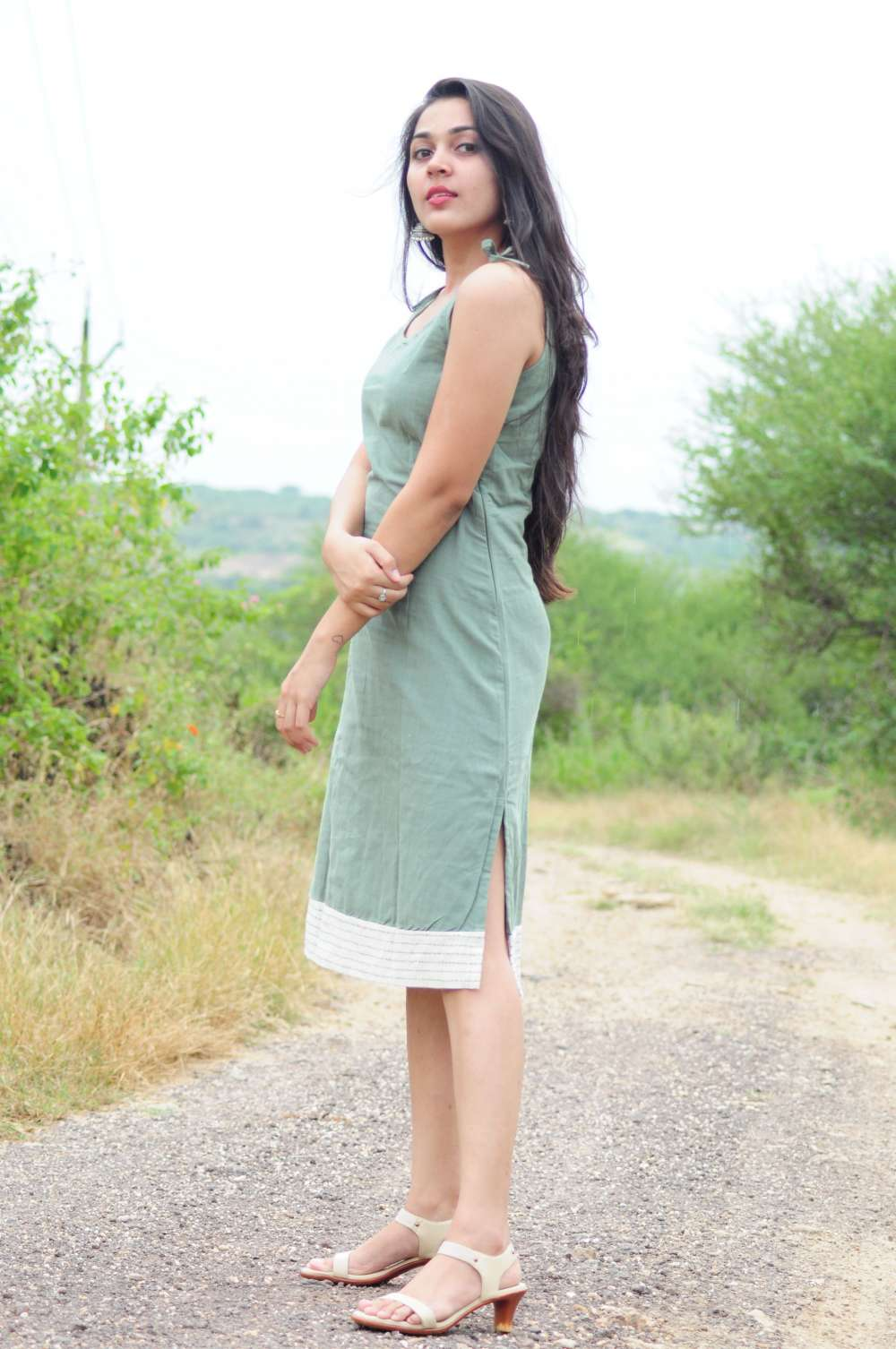 The Fitted Green Dress