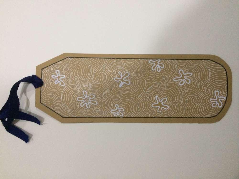 Line art bookmark