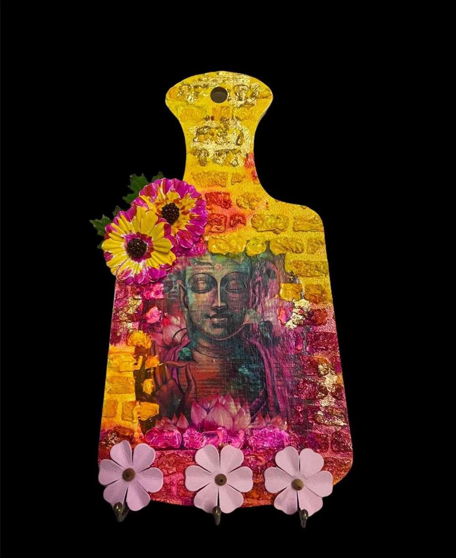 Buddha Key Holder