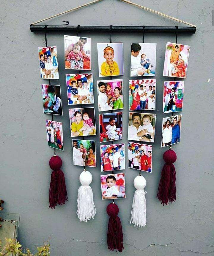 Picture Tassel Wall Hanging