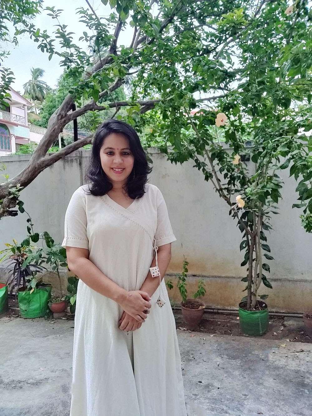 Angarkha Cotton Kurta/Wrap dress