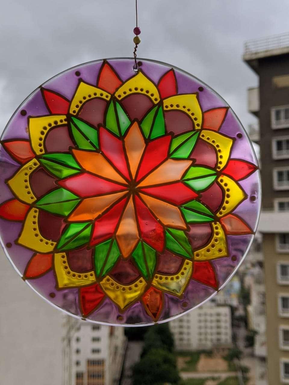 Warm-color-Suncatcher