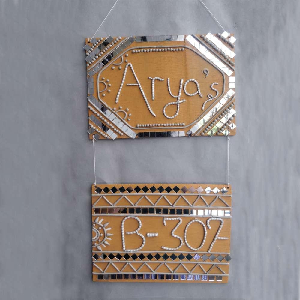 Lippan 2 storey Nameplate(Customization available)