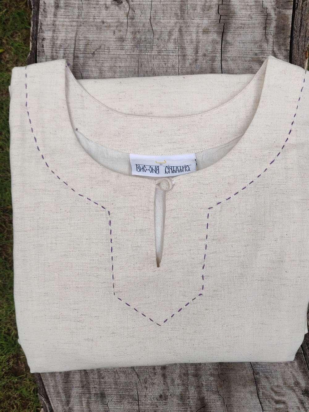 Back Yoke A-line Cotton Kurta/dress