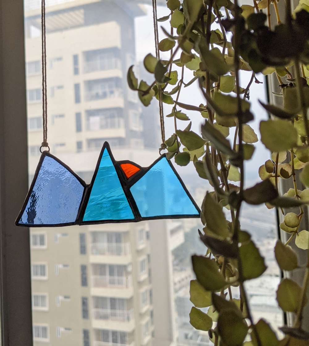 Stained glass Mountain
