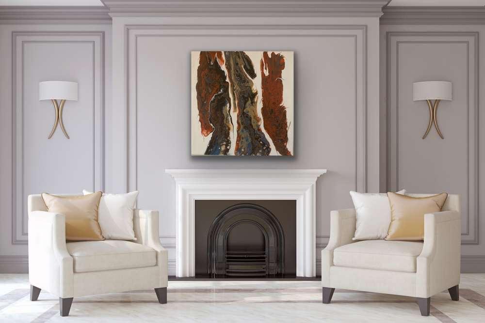 ESSENCE Medium Grain Stretched Canvas